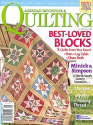 American Patchwork & Quilting June 2010