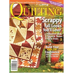 American Patchwork & Quilting October 2012 - Issue 118