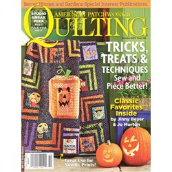 American Patchwork & Quilting October 2013 - Issue 124