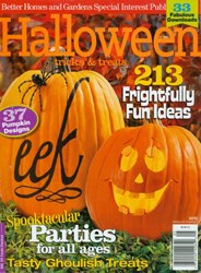 Better Homes and Gardens Halloween 2010