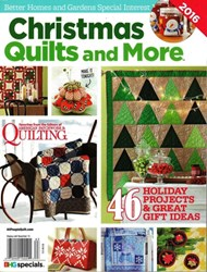 Christmas Quilts and More <br>Better Homes & Gardens Special Interest Publication 2016