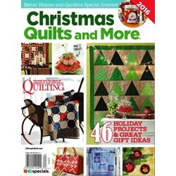 Christmas Quilts and More Better Homes & Gardens Special Interest Publication 2016