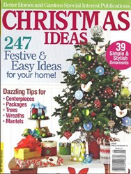 Better Homes and Gardens Christmas Ideas 2010