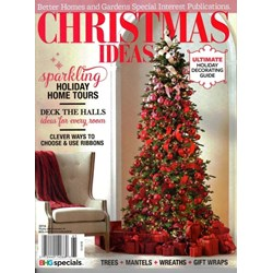New products Better homes and gardens christmas special