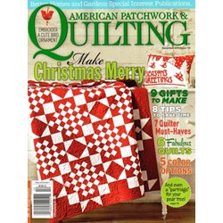 American Patchwork & Quilting December 2014 - Issue 131