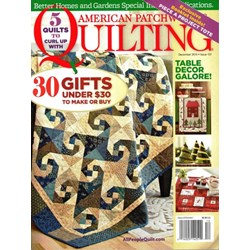 American Patchwork & Quilting December 2015- Issue 137