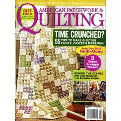American Patchwork & Quilting April 2015- Issue 133
