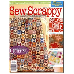 Sew Scrappy - Quilts for Fabric Lovers - Volume 2 - October 2011