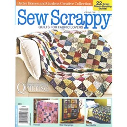 Last One!  Sew Scrappy - Quilts for Fabric Lovers - Volume 1 - October 2010