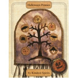 VINTAGE FIND!! Halloween Pennies Pattern Booklet By Kindred Spirts