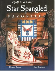 Last One!  Star Spangled Favorites Book by Eleanor Burns of Quilt In A Day