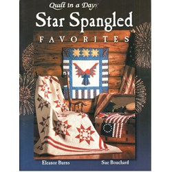 Star Spangled Favorites Book by Eleanor Burns of Quilt In A Day