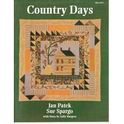 Country Days Book by Jan Patek and Sue Spargo