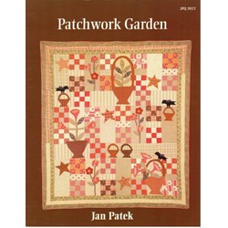 Patchwork Garden Quilt Pattern Booklet by Jan Patek