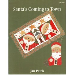Santa's Coming To Town Pattern Booklet by Jan Patek