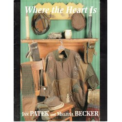 Where the Heart Is Pattern Book by Jan Patek and Melissa Becker
