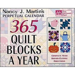 365 Quilt Blocks A Year Perpetual Calendar