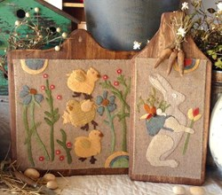 Sweet Spring Wool Applique by 1894 Cottonwood House