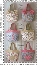 Triple Treat Tote Pattern