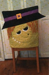 Witch Chair Cover Pattern by Cut Loose Press