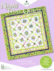 Name That Quilt Pattern Booklet by Debbie's Creative Moments, Inc.
