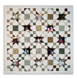 Scrappy Stars Memory Quilt Pattern