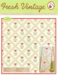 Fresh Vintage FTQ FV550 Issue 19 - Fig Tree Patterns and Style - A Fig Tree and Co. Pattern Publication