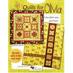 Quilts for Olivia - 4 Quilt Patterns Booklet by G.E. Designs