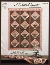 A Tisket A Tasket Quilt by Renee Plains <br> Liberty Star