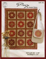 Posy Wall Quilt and Handbag by Renee Plains <br> Liberty Star
