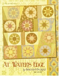 VINTAGE FIND!  At Water's Edge Quilt Pattern - Blackbird Designs for MODA