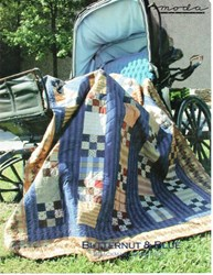 VINTAGE FIND!  Butternut & Blue Quilt Pattern - Brackman & Thompson for MODA