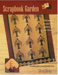 VINTAGE FIND! Scrapbook Garden Quilt Pattern - Kansas Troubles for MODA
