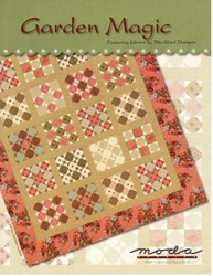 VINTAGE FIND! Garden Magic Quilt Pattern - Blackbird Designs for MODA