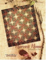 VINTAGE FIND!  Harvest Home Quilt Pattern - Brannock and Patek for MODA