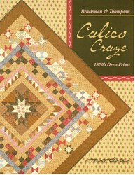 VINTAGE FIND! Calico Crazy Quilt Pattern - Brackman & Thompson for MODA