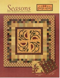 VINTAGE FIND! Seasons Quilt Pattern - Kansas Troubles for MODA