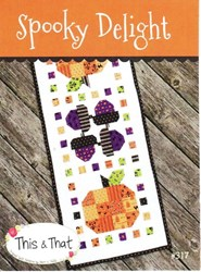 Spooky Delight Table Runner Pattern by This and That Patterns