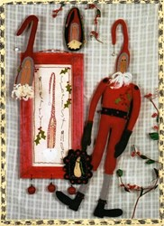 Mr. Jingles Santa Doll Pattern and More - Reets Rags To Stitches