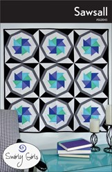 Sawsall Quilt Pattern by Swirly Girls Design