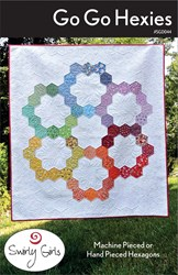 Go Go Hexies Quilt Pattern by Swirly Girls Design