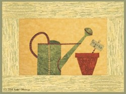 Watering Can & Herb Pot Pattern