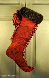 Victorian Elf Stocking Pattern