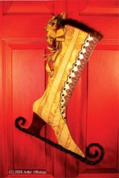Victorian Skate Stocking Pattern