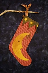 Christmas Moon Stocking & Ornament  Pattern