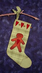 Ginger Cookie Stocking & Garland Pattern