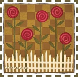 Posies on Parade Pattern <br>by Artful Offerings