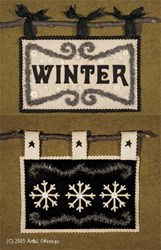 Wooly Winter Signs Pattern<br>Artful Offerings