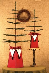 Jingle Bells Vases Pattern