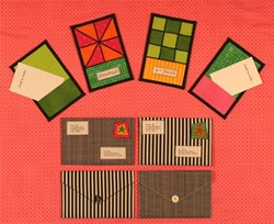 Pinwheel & 9-Patch Stationary Pattern